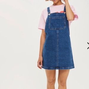 Top shop Petite Denim Overall dress